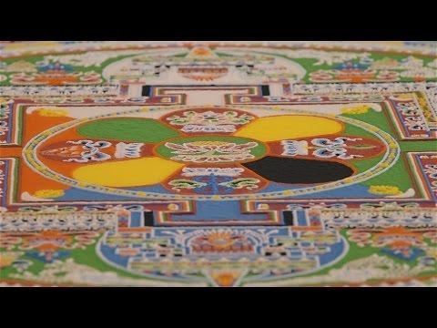 Sand Mandala For Dalai Lama's 80th Birthday – UC Irvine