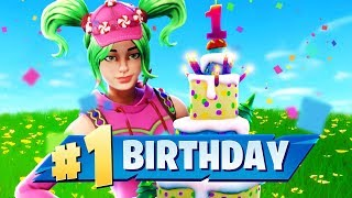 HAPPY BIRTHDAY Fortnite Battle Royale!