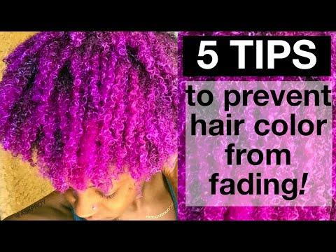 Keep Hair Color from Fading | How To | askpRoy