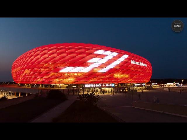 Zeitraffer vom Abschiedsspiel von Bastian Schweinsteiger an der Allianz Arena