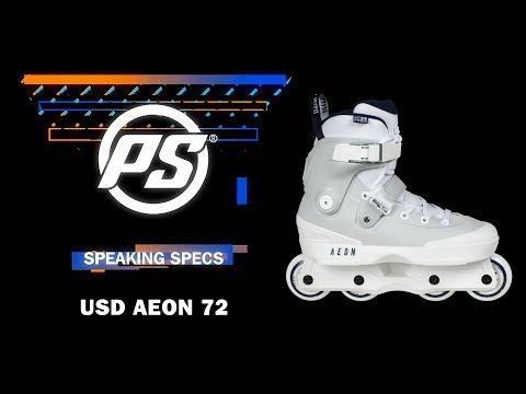 Usd Aeon 72 Aggressive Inline Skates Grey