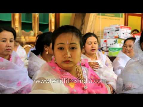 Hinduized wedding rituals from Manipur