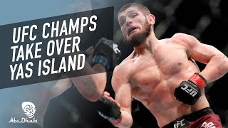 UFC Returns to Fight Island in Abu Dhabi