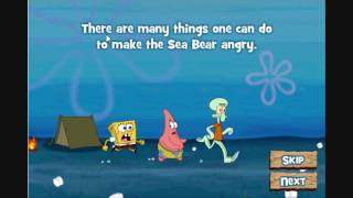 SpongeBob Games: Camping Chaos! Gameplay