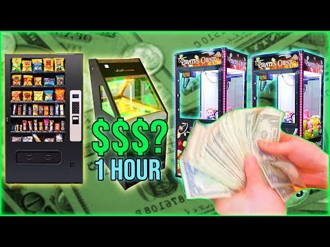 Vending Machine Business: How Much Did We Collect In One Hour? from YouTube · Duration:  12 minutes 4 seconds