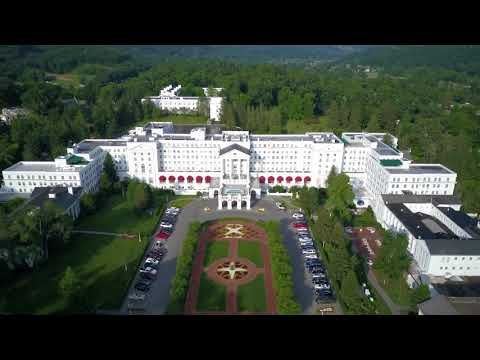The Greenbrier by Drone: Blackbird Aerial & Co