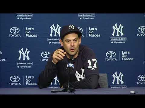 Aaron Boone on the Yankees' walk-off win vs. Houston