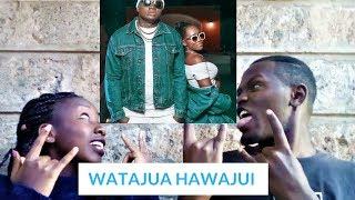 KHALIGRAPH JONES x MSUPA S - WATAJUA HAWAJUI (OFFICIAL VIDEO)   REACTIONMAX  