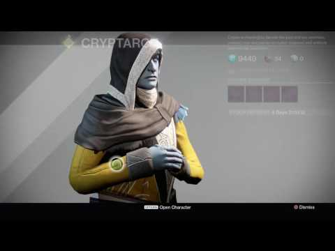Destiny Rise of Iron - Tower: Join Dead Orbit, Kabr's Pocket Watch, Byronic Hero, Mangonel Type 2