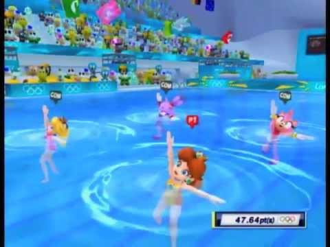 Mario & Sonic At The London 2012 Olympic Games ~ Princess Daisy