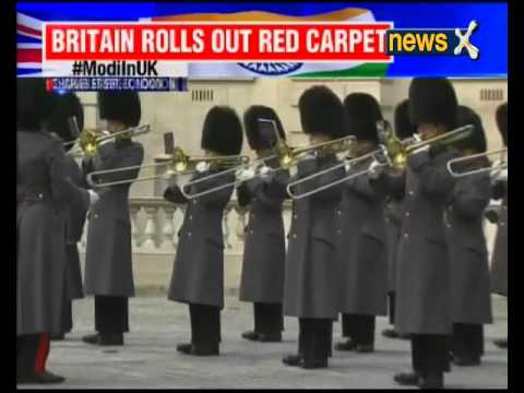 Modi in UK: Guard of Honour for Prime Minister Narendra Modi