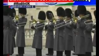 Modi in UK: Guard of Honour for Prime Minister Narendra Modi