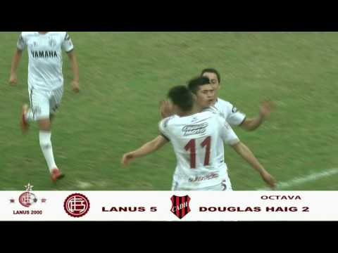 LANUS- DOUGLAS HAIG  JUVENILES