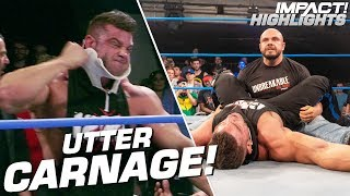 Michael Elgin's SHOCKING Attack on Brian Cage! | IMPACT! Highlights June 28, 2019