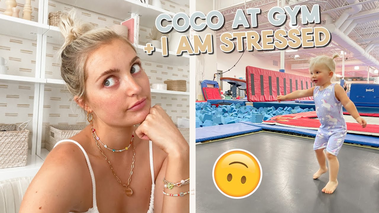 glucose test results, coco tries gymnastics + my life is a mess.. :-)