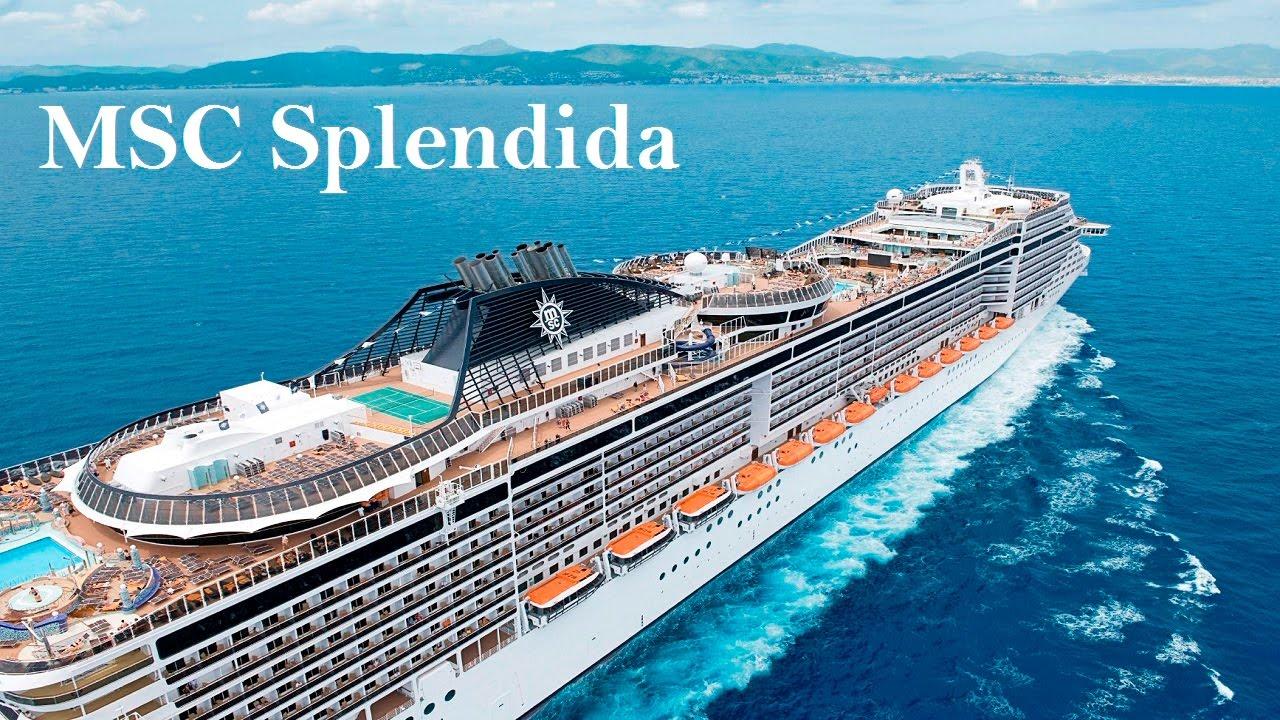 Cruise MSC Splendida HD 1080p - YouTube