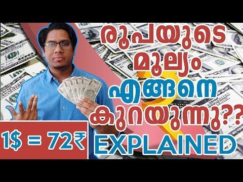 രൂപയുടെ മൂല്യം കുറയുന്നത് എന്ത് കൊണ്ട്? Reasons Behind Fall Of Indian Rupee - Explained Malayalam