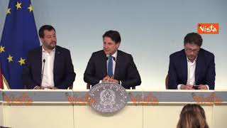 """Conte: """"All'Italia serve chiarezza sulla prossima Manovra economica"""""""