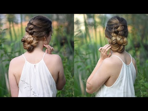 Knotted Braid Updo Cute Girls Hairstyles