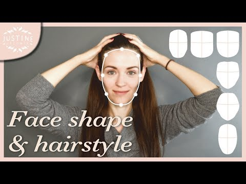 Good hairstyles for your face shape & how to determine your shape | Justine Leconte