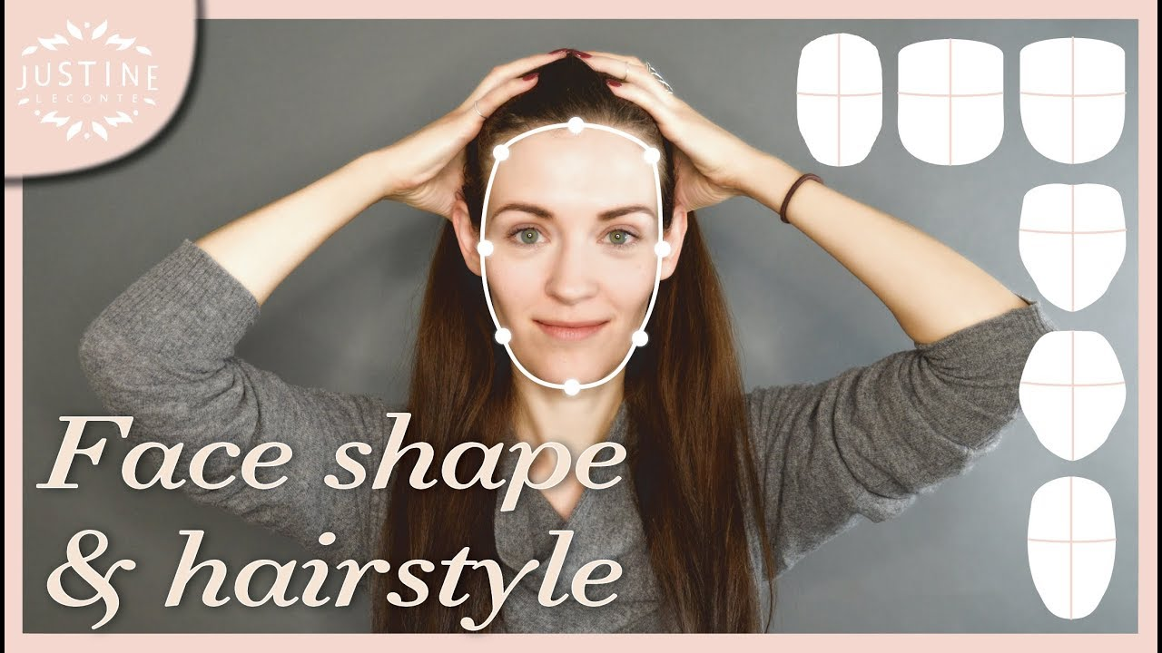 good hairstyles for your face shape & how to determine your shape