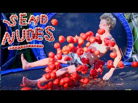 TRAMPOLINE VS ROTTEN TOMATOES!!! *Send Nudes*