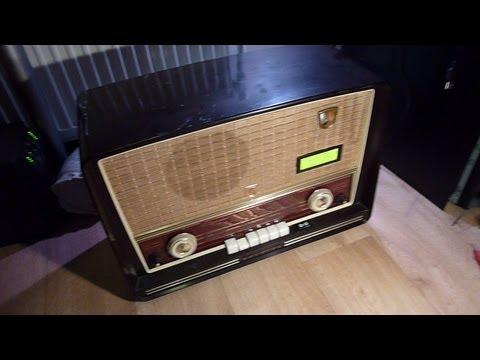 1955 Internet Tube Radio with RaspBerry PI