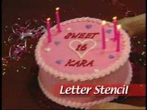 Betty crocker 100 piece cake decorating kit youtube for 100 piece cake decoration kit