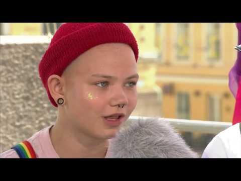 Mesi on 13-vuotias Pride-festivaalien kävijä
