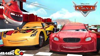 Disney Pixar Cars Fast as Lightning McQueen - Long Ge Vs All Characters - Disney Cars Racing