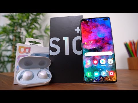 Samsung Galaxy S10+ AND Galaxy Buds Unboxing! Mp3