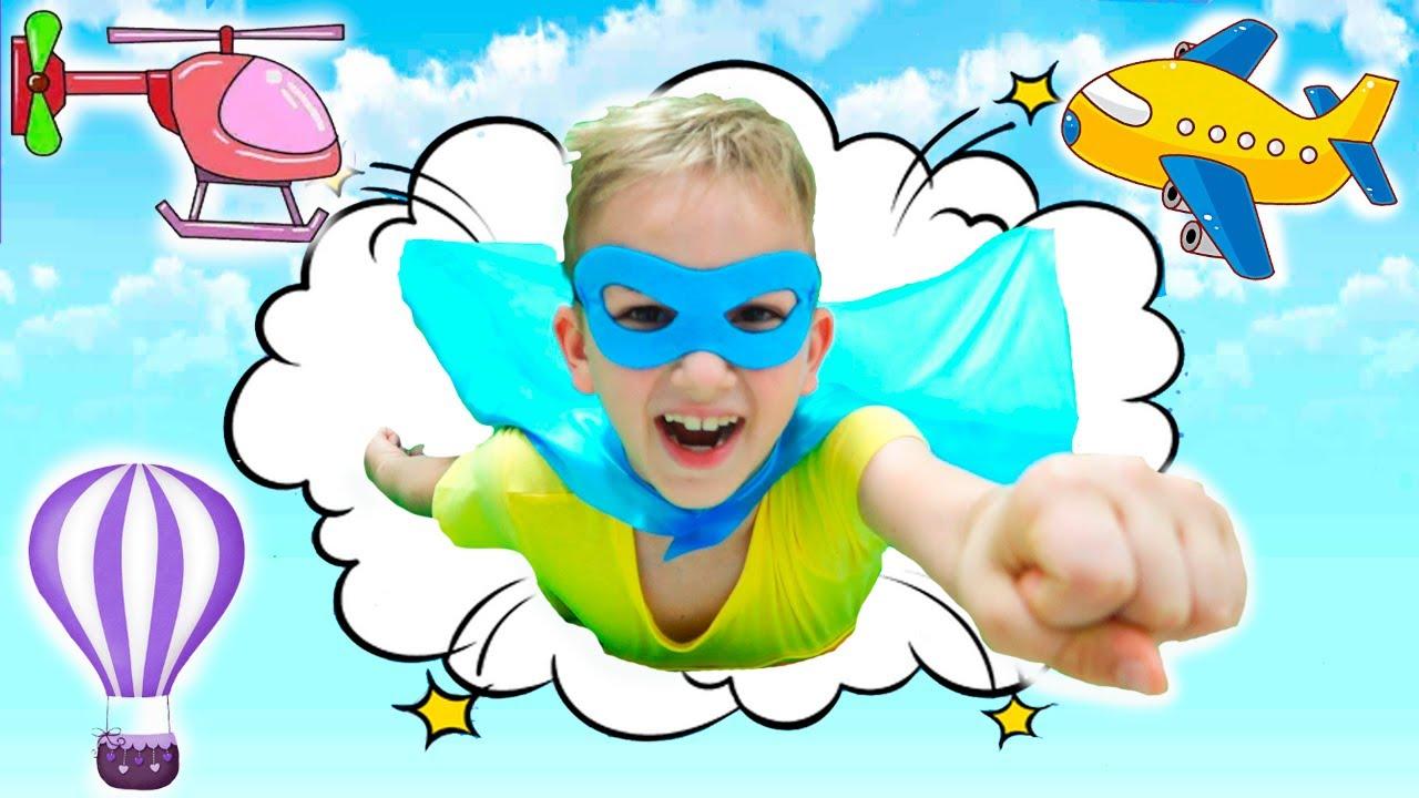 Vlad ingin terbang seperti superhero