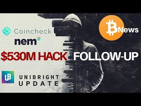 $530 Million HACK Follow-Up, Ohio Embraces Bitcoin, Unibright Update - Today's Crypto News