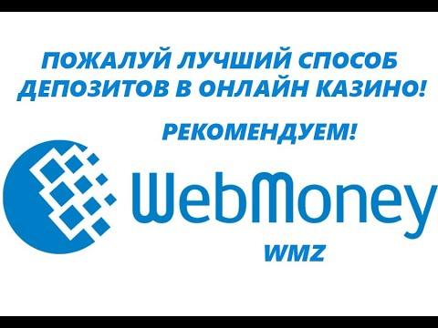 WebMoney лучший способ депозитов в онлайн казино/инструкция!