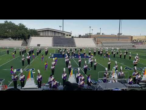 Texas UIL Region XI Marching Contest 2019 Carrizo Springs High School