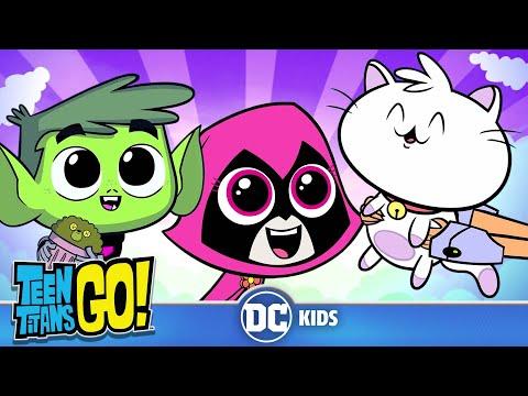 Teen Titans Go! | Cuteness Overload! | DC Kids