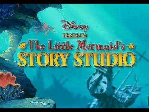 Disney's The Little Mermaid Story Studio PC Gameplay