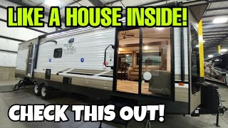 Lower cost Destination Travel Trailer RV! Like a house inside!