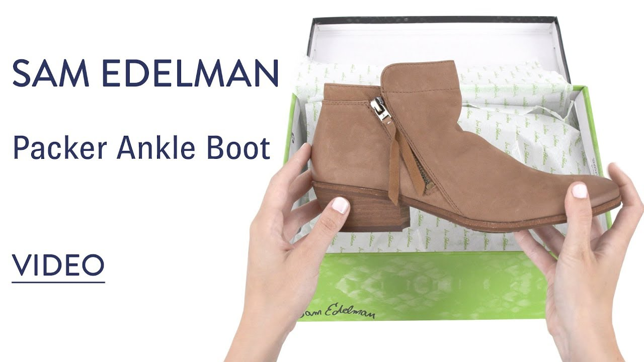 d4596dfe036851 Sam Edelman Packer Ankle Boot