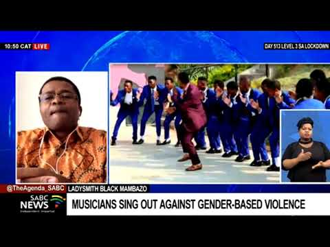 Download Ladysmith Black Mambazo collaborates with new talent in a song on Gender-based violence