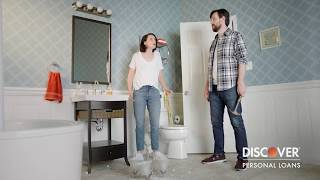 Home Improvement Loan: Financing a Bathroom Remodel :30 | Discover