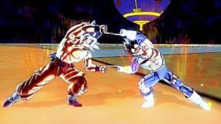 ULTIMATE FUSION! Mastered Ultra instinct Goku and Ultra Instinct Vegeta Fusions VS Jiren!XENOVERSE 2