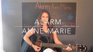 """Alarm"" Anne-Marie Cover"