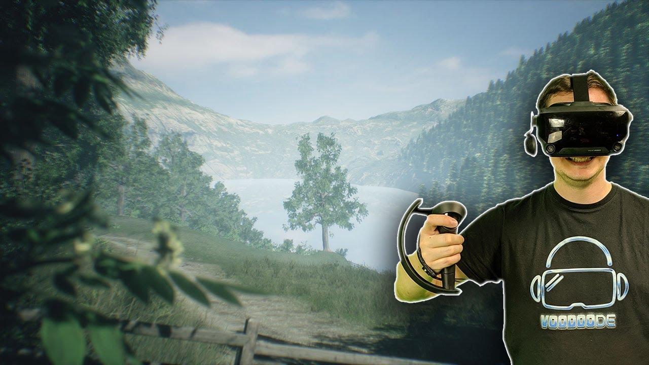 Ein wunderschöner virtueller Spaziergang durch Neuseeland - Wakamarina Valley [VR Gameplay]
