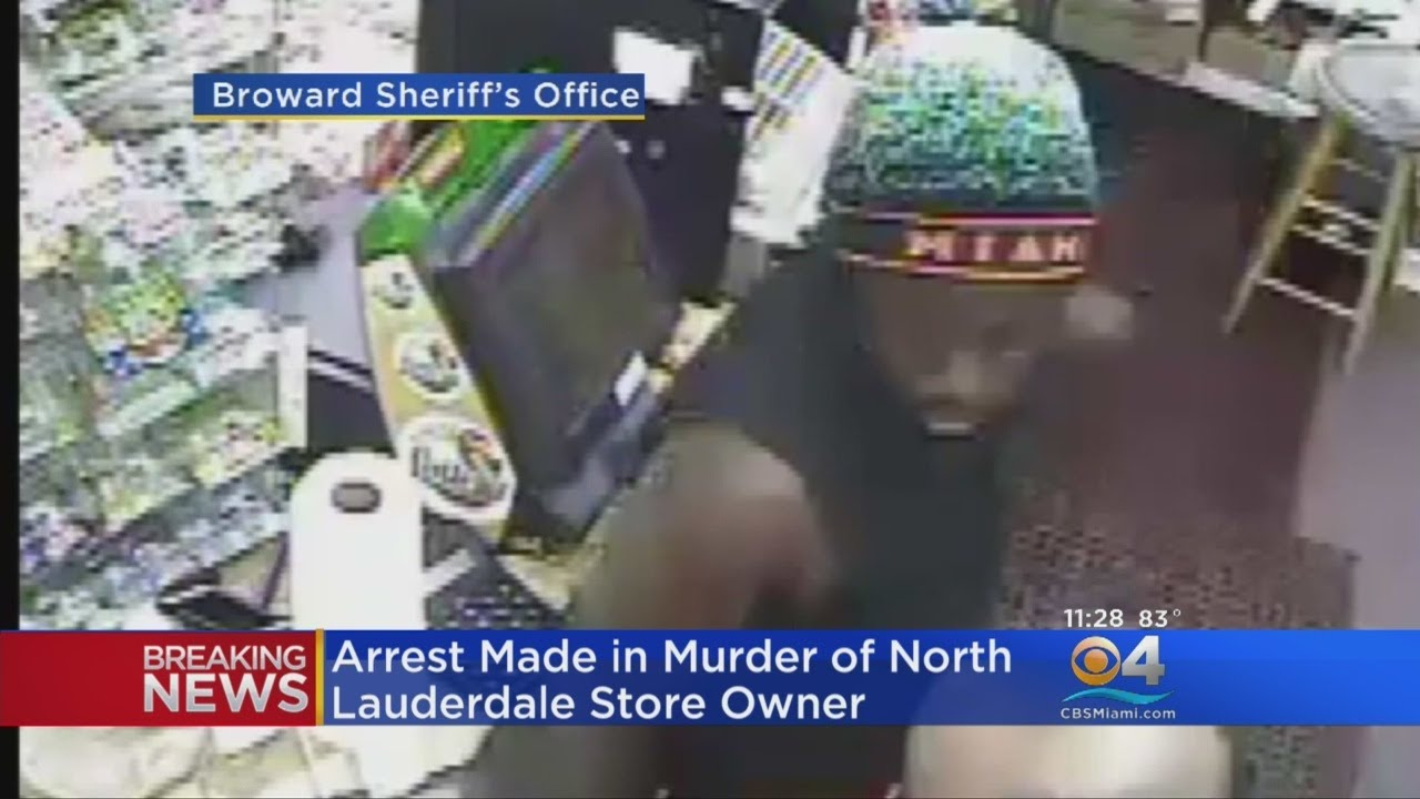 Arrest Made In Killing Of North Lauderdale Store Clerk