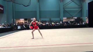 Linyi Peng - Ball Finals - 2012 Kellogg