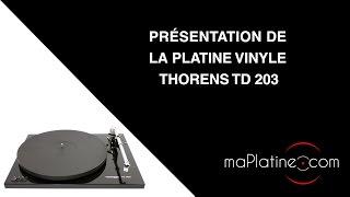 Comment régler une platine vinyle Thorens TD 203 ?