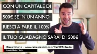 Si può fare Trading con un Capitale piccolo (sotto i 1000€) ? Si, ma non fare questo errore ... ...
