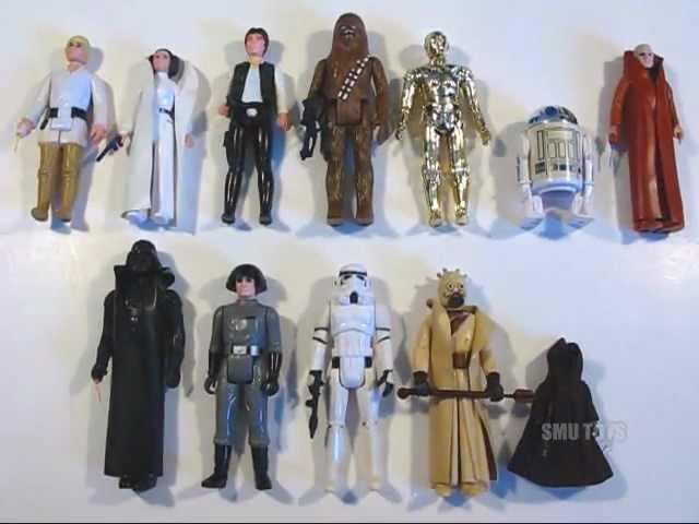 SMU Toys Vintage 1977-1985 Star Wars Figure Collection