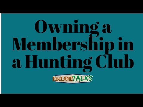 Pros & Cons Of Ownership Shares In Large Hunting Clubs